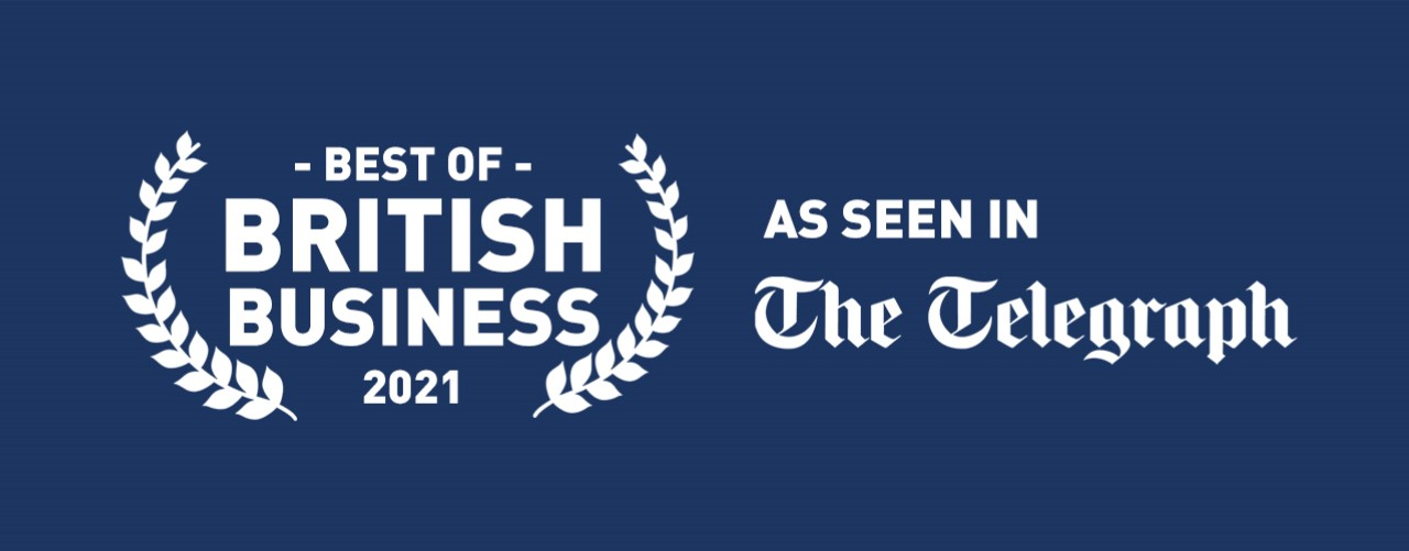 Iconic Digital - Best of British Business 2021 as featured in the Daily Telegraph